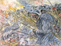 The Assault, Verdun by Henri de Groux