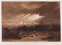 The Fifth Plaque of Egypt, engraved by Charles Turner 1808 by Joseph Mallord William Turner