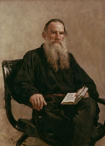 Lev Tolstoy 1887 von Ilya Efimovich Repin