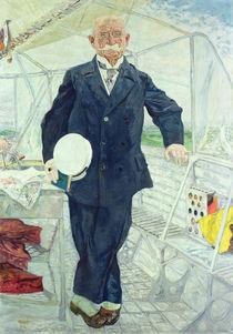 Count Zeppelin 1914 by Bernhard Pankok