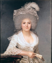 Portrait of Madame Jeanne-Louise-Henriette Campan 1786 by Joseph Boze