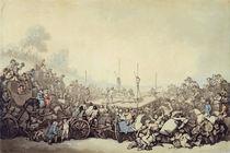 The Prize Fight, 1787 von Thomas Rowlandson
