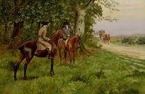 The Highwaymen von George Derville Rowlandson