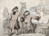 The Connoisseurs, c.1790 by Thomas Rowlandson