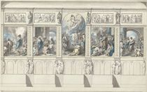 Design for a Wall of the Chapel of Revealed Religion by Benjamin West