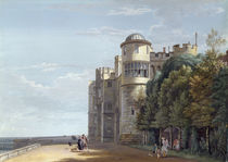 The North Terrace, Windsor Castle von Paul Sandby