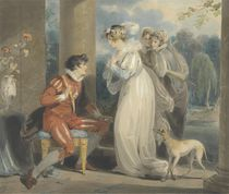 Rosebud, or the Judgement of Paris by Richard Westall