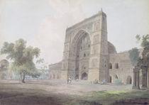 Main Entrance of the Jami Mosque von Thomas & William Daniell