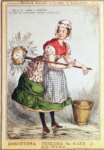 Robertena Peelena the Maid of All Work von William Heath