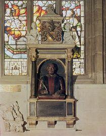 Monument to William Shakespeare c.1616-23 by Gheerart Janssen