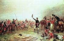The Battle of Waterloo, 18th June 1815 von Robert Alexander Hillingford