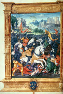 Francois I at the Battle of Marignano by French School