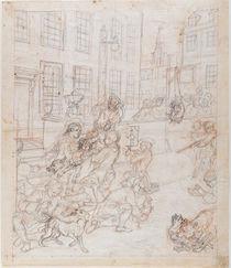 The First Stage of Cruelty von William Hogarth