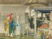 Fredegonda at the Deathbed of Praetextatus by Lawrence Alma-Tadema