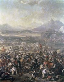 The Battle of Montjuic, 16th January 1641 by Pandolfo Reschi
