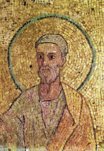 Detail of St. Peter, from the Crypt of St. Peter von Byzantine School