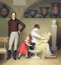 The Artist and his Family, 1813 by Adam Buck