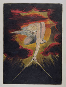 Frontispiece from 'Europe. A Prophecy' von William Blake
