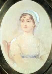 Portrait of Jane Austen von English School