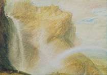 Upper Falls of the Reichenbach von Joseph Mallord William Turner