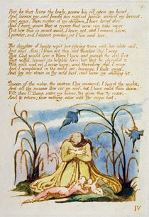 'But he that Loves the Lowly...' by William Blake