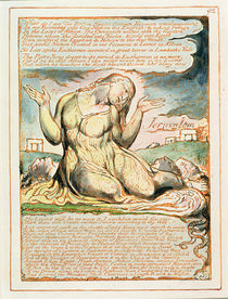 'What do I See!...', plate 92 from 'Jerusalem' 1804-20 by William Blake