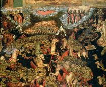 Battle between the Russian and Tatar troops in 1380 von Russian School