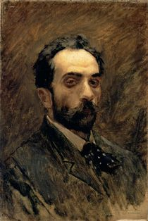 Self Portrait, 1890s by Isaak Ilyich Levitan