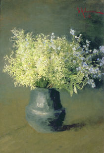 Wild Lilacs and Forget-Me-Nots by Isaak Ilyich Levitan