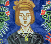 Self Portrait, 1912-15 by Olga Vladimirovna Rozanova