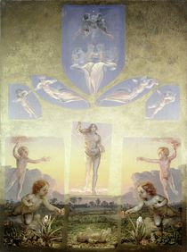 A study for the second version of 'The Morning' von Philipp Otto Runge