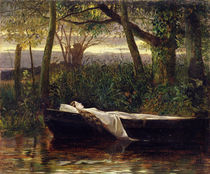 The Lady of Shalott, 1862 von Walter Crane