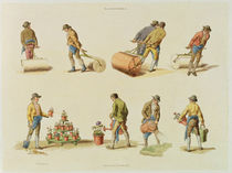 Gardeners, vol.2, plate 97 by William Henry Pyne