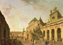 The Boyar's Ground in the Moscow Kremlin by Fedor Yakovlevich Alekseev