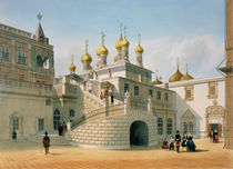 View of the Boyar Palace in the Moscow Kremlin by Felix Benoist