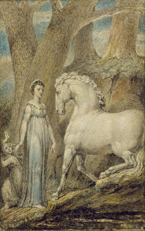 The Horse, from 'William Hayley's Ballads' von William Blake
