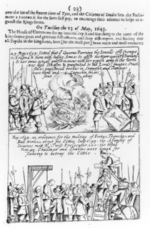 Chronicle of significant events during the English Civil War von English School