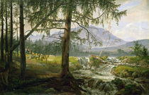 Northern Landscape, 1822 by Johan Christian Dahl