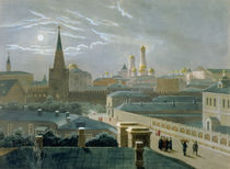 View of the Moscow Kremlin von Paul Marie Roussel