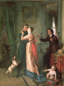 Return after the War, 1878 by Akim Egorovich Karneev