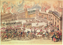 Entry of the French Army Commanded by Emperor Napoleon into Moscow von French School