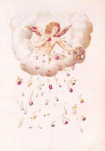 Zephyr from , 'La Guirlande de Julie' von Nicolas Robert