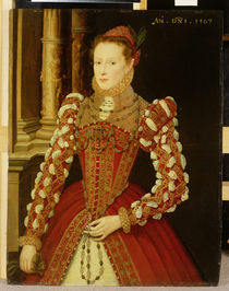 Portrait of a Woman, 1567 by English School