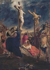 Christ on the Cross, 1835 by Ferdinand Victor Eugene Delacroix