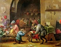 The Monkeys at School by David the Younger Teniers