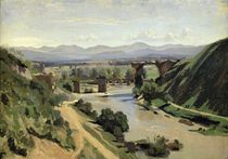 Narni, The Bridge of Augustus over the Nera by Jean Baptiste Camille Corot
