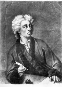 Portrait of Alexander Pope by Michael Dahl