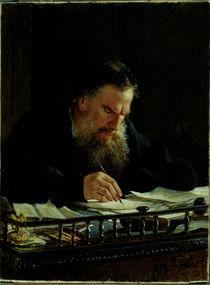 Portrait of Lev Tolstoy by Nikolai Nikolajevitch Gay
