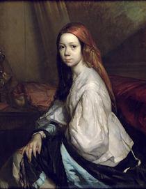 Portrait of Pauline Ono by Jean-Francois Millet