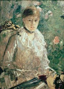 Portrait of a Young Lady von Berthe Morisot